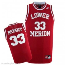 Mens Kobe Bryant High School Jersey Authentic Red