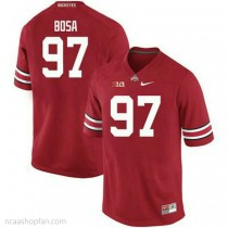 Womens Joey Bosa Ohio State Buckeyes #97 Authentic Red College Football Ncaa Jersey