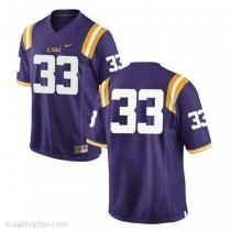 Youth Jamal Adams Lsu Tigers #33 Authentic Purple College Football Ncaa Jersey No Name